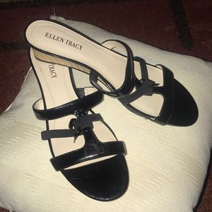 BUNDLE Ellen Tracy Sandals & Sunglasses